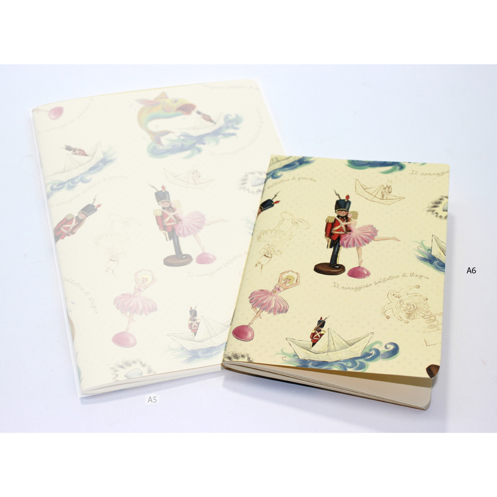 Soldatino di Piombo Softcover Journal A6