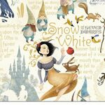 Snow White Wrapping Paper