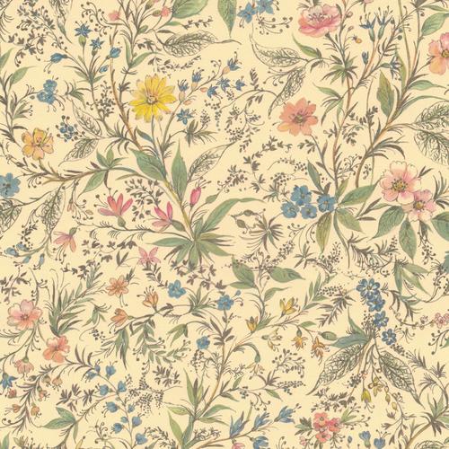 Primavera paper pattern