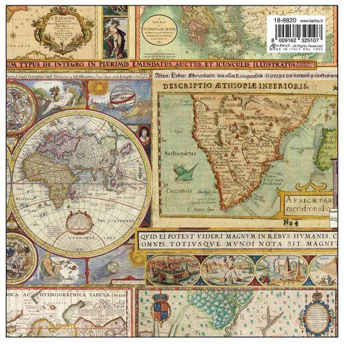 Maps paper pattern