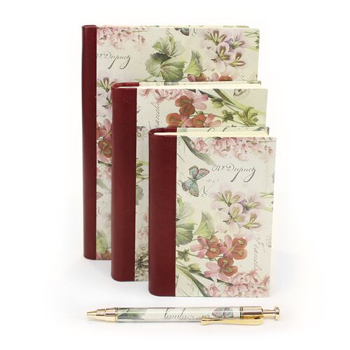 Romantica Notebooks in 3 sizes