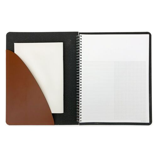 Spiral Notebook with Pocket
