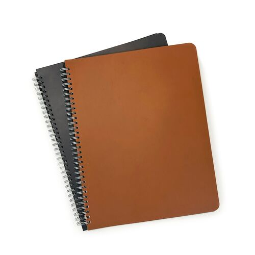 Spiral Notebooks can be made in any color