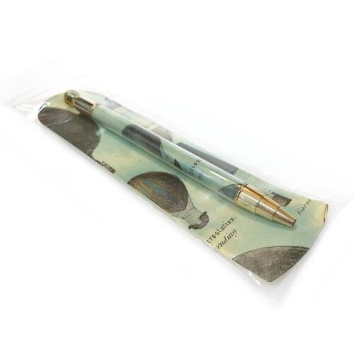 Individually packaged Pen & Bookmark set