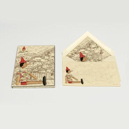 Pinocchio Card Portfolio Small