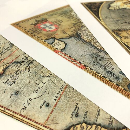 Antique World Maps detail