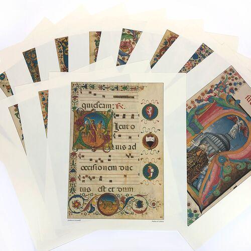 Manuscripts prints