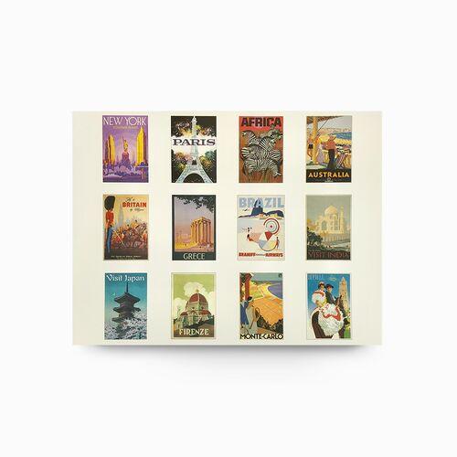 Vintage World Travel prints