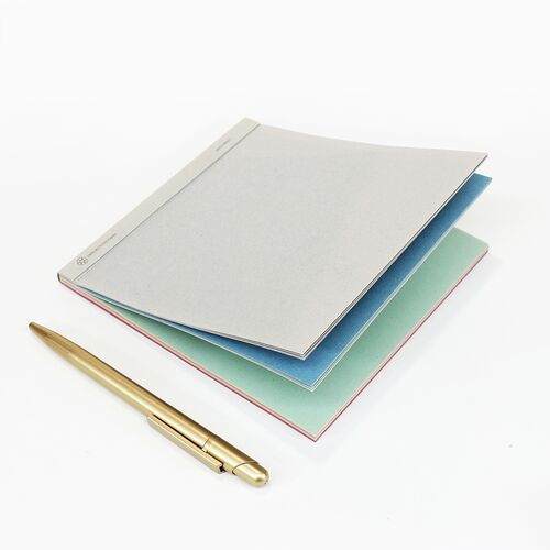 Square Notepad with Multicolored paper