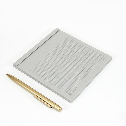 Square Notepad with Line/Graph paper