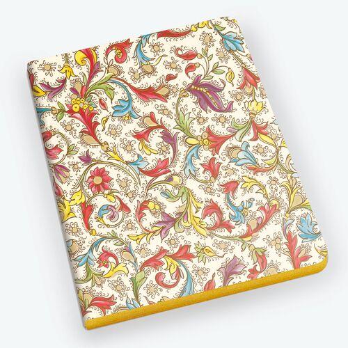 Florentia Gold Edge Notebook