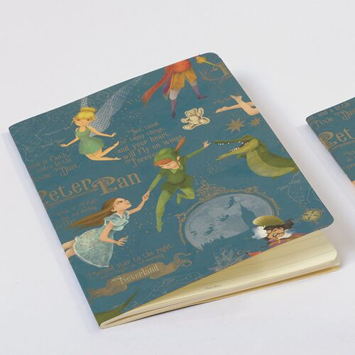 Peter Pan Softcover Journal A5 - Ruled