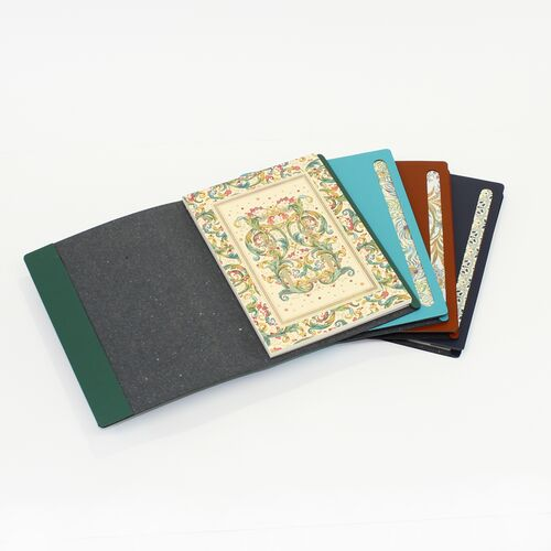 Florentine A5 Notepad in Leather Cover