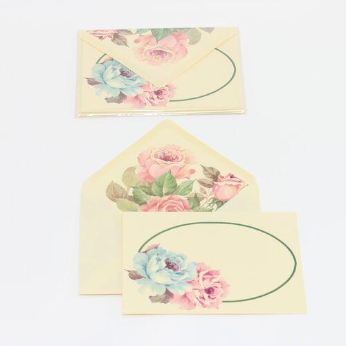 Lady Rose Large Flat Card Letter Writing Set