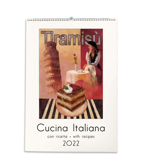 Italian Cuisine Calendar front cover
