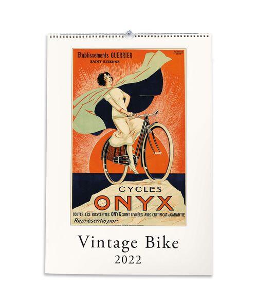 Vintage Bike Calendar front cover