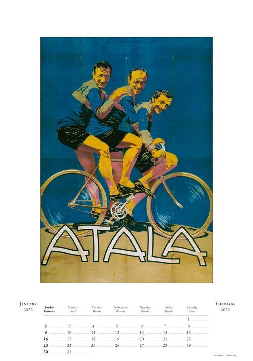 Vintage Bike Calendar inside page